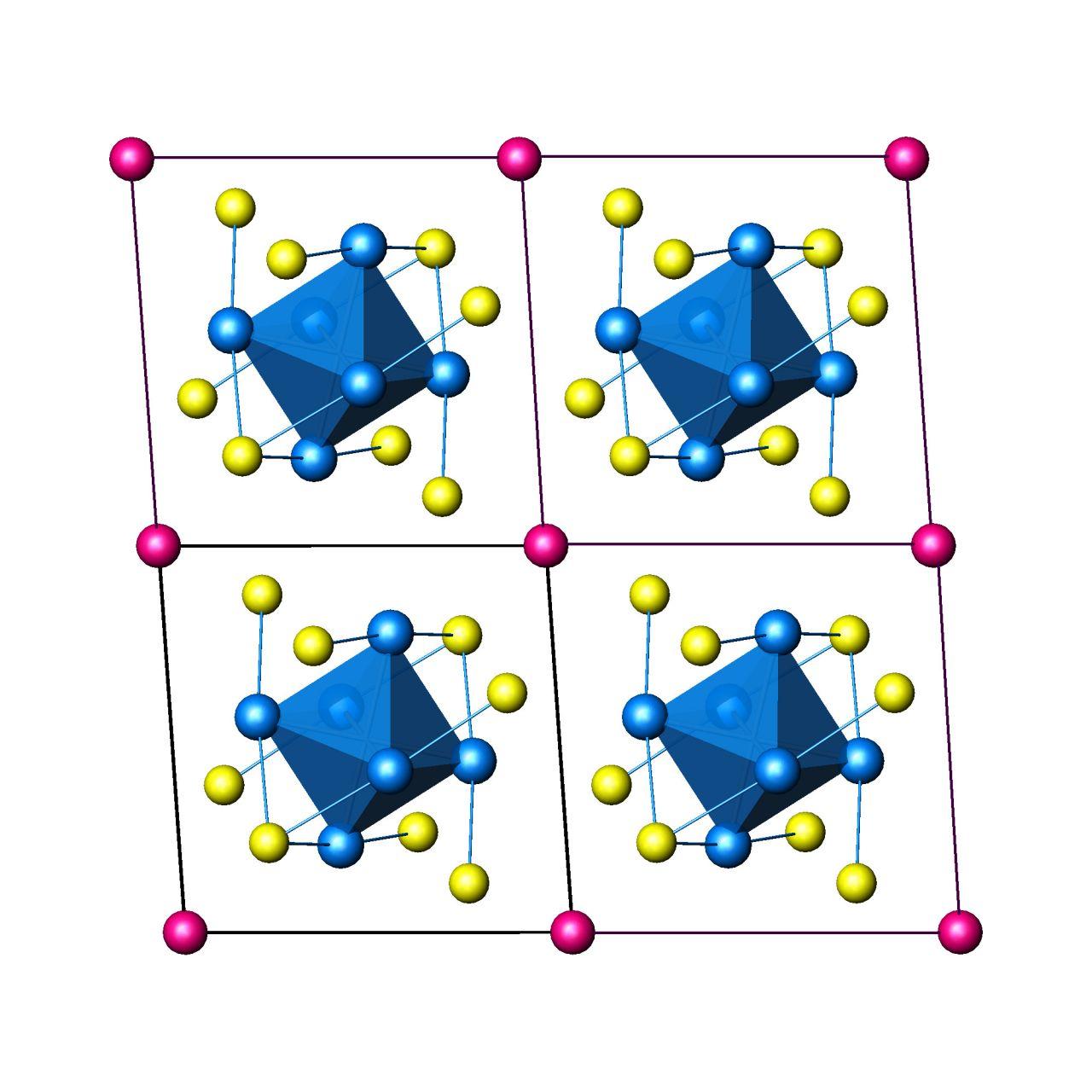 Mo6Se8Cu structure