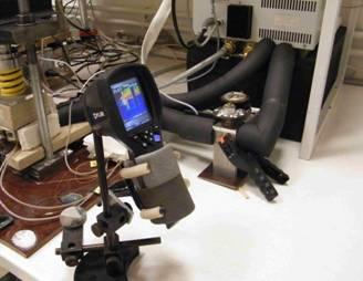 Thermoelectric module testing apparatus