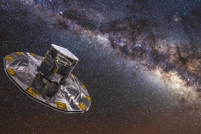 Gaia measures the positions and movements of the stars