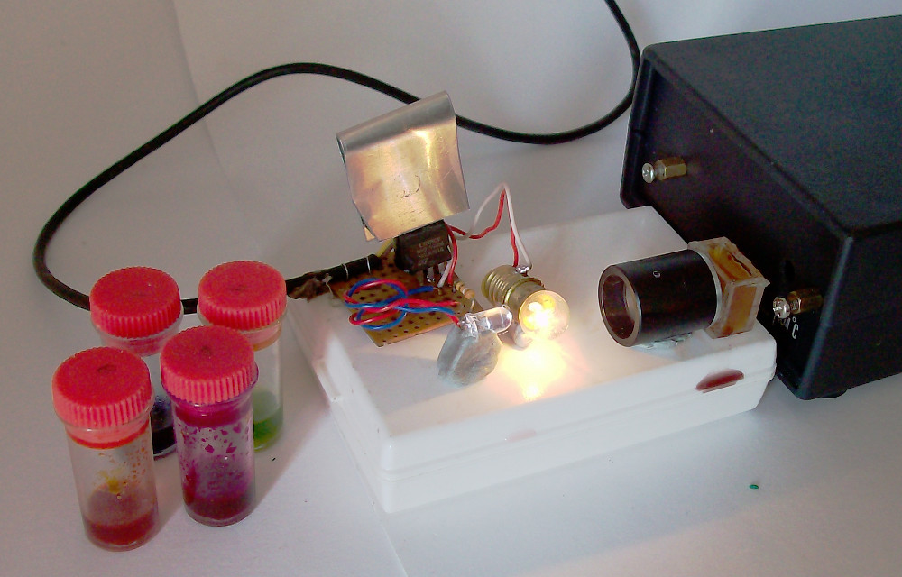 USB spectrometer